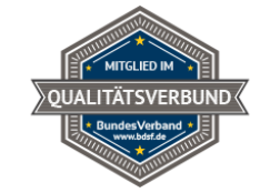 Mitglied im Qualitätsverbund BDSF
